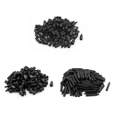 100pcs M3 12mm+6mm Nylon Spacer Hex Stand-Off Pillar for Motherboard I3H7@P7L8