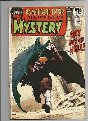 The House Of Mystery #195 Fn/vf Ow/white  Pages Bronze Age Dc Comics 1971