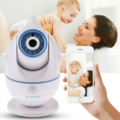720P Wireless Wifi Pet Baby Monitor Two Way Audio Night Vision Alarm IP Camera