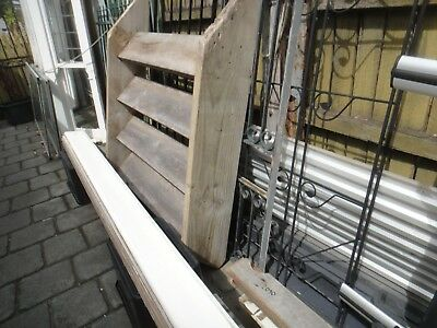 Steps. Timber stair - 4 steps. 1250mm wide x 1600mm