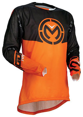Moose Racing MX Off-Road 2018 SAHARA Jersey (Black/Orange) L (Large)