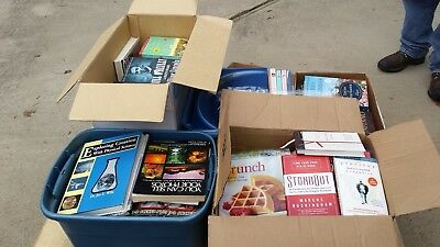 Wholesale Lot of Books - Great for Resellers - Unsorted/ Unscanned Raw Donations