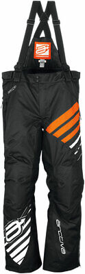 Arctiva Snow Snowmobile Women's 2018 COMP Insulated Bibs/Pants (Black/Orange) S