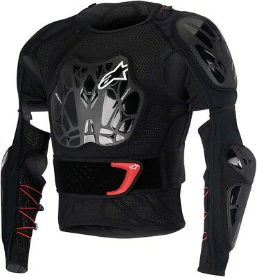 ALPINESTARS 2016 BIONIC TECH Protection Jacket (Black/Red) S (Small)