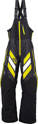 ARCTIVA Snow Snowmobile Mens 2017 MECH Insulated Bibs/Pants (Black/Yellow) Large