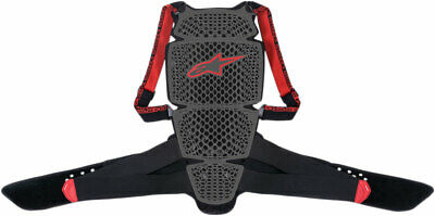 Alpinestars Nucleon KR-Cell Back Protector CE Level 1 (Black/Red) XL (X-Large)