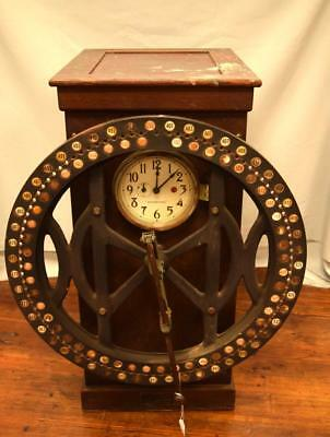 EARLY INTERNATIONAL TIME RECORDING TIME CLOCK: Lot 150A
