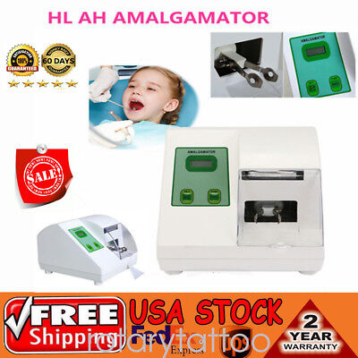 Dental Lab Amalgamator G5 Digital Capsule Mixer HL-AH Blender Mixer Amalgam 110V