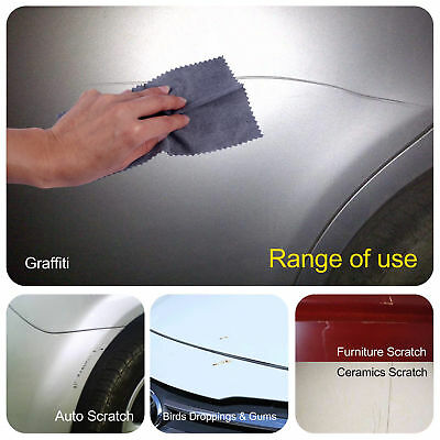 Universal Auto Car Scratch Paint Repair Remove Nano Cloth Reusable Polishing BLK