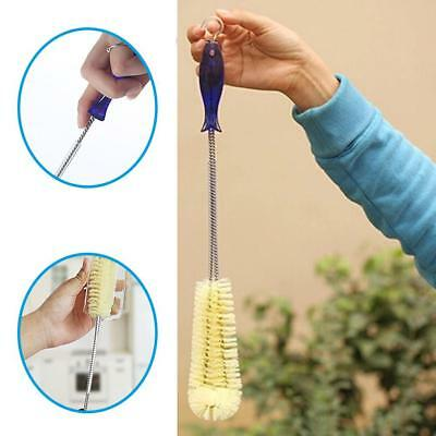 Long Bottle Cup Cleaning Brush Brew Long Handle Scrubbing Cleaner With Hook-Tool