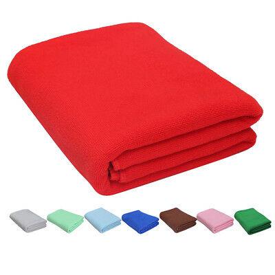 2x Large Microfibre Towel Sports Bath GYM Quick Dry Travel Swimming Camping@W7W6