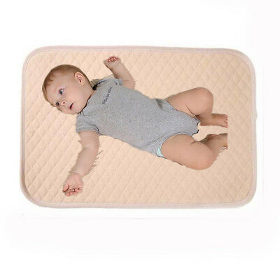 Cotton Baby Infant Waterproof Urine Mat Changing Pad Cover Protector 50*60cm