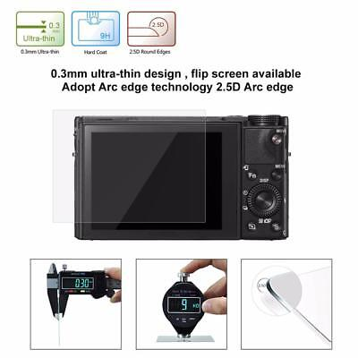 Ultrathin 2.5D 9H SLR Camera Tempered Glass Screen Film Guard For Canon G7X/G9X