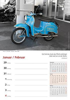 erotischer moped kalender super simme 2018 das. Black Bedroom Furniture Sets. Home Design Ideas