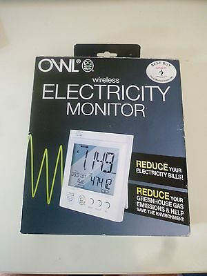 OWL Wireless Energy Electricity Monitor BRAND NEW UNUSED GIFT