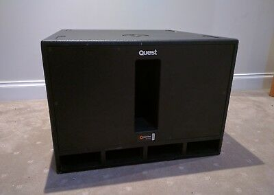 Quest Engineering Q Motion PA DJ Live Sound Stage Sub Subwoofer Speaker