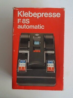 Vintage Agfa Klebepresse F 8S Automatic Film Splicer *Made in Germany