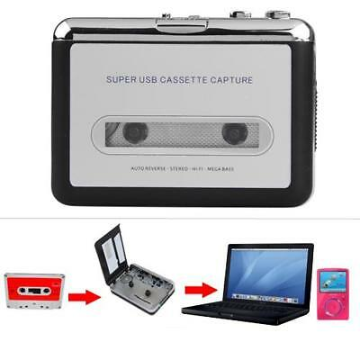 Cassette Tape to USB MP3 Converter Player with USB Cable