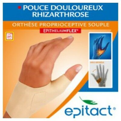 Epitact Orthèse Pouce Douloureux Rhizarthrose Main Droite Taille L