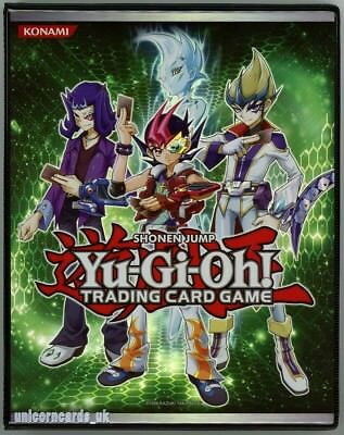 Official Konami Zexal Duelist Portfolio Folder A5/20 Pages/4 Pocket Album Holds