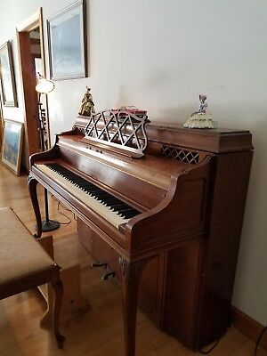 Steinway & Sons Upright Piano Louie XV