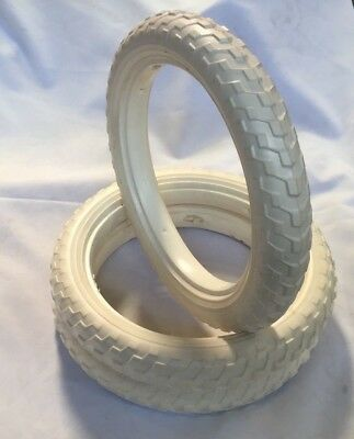 12-1/2 x 2-1/4 3x Solid Foam Tyres Pram Scooter Buggy Stroller Bicycle Bike EVA