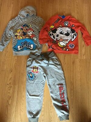 boys Paw Patrol clothes bundle age 4-5 years