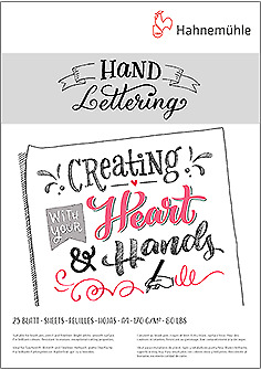 Hand Lettering Block A5 - Hahnemühle