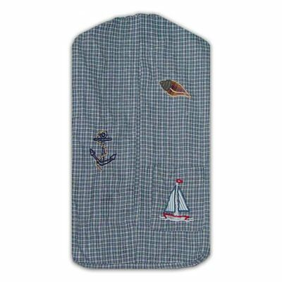 Patch Magic 12-Inch by 23-Inch Nautical Diaper Stacker