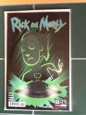 Rick and Morty Issue #32 Regular Cover Oni Press Adult Swim Comic