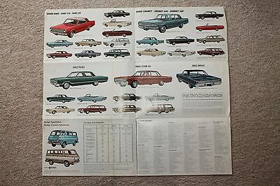 1965 Winchester, VA Dodge Dealership Advertising Brochure