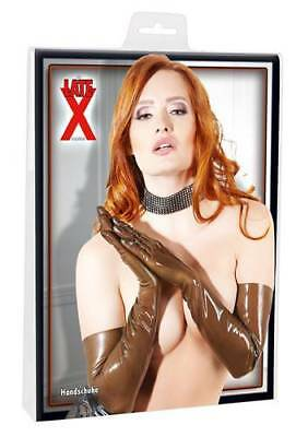Guanti Lunghi In Latex Naturale  2900149 - Marrone