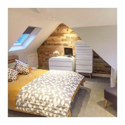 Reclaimed pallet wood rustic wall cladding 1metre square packs *9cm WIDE BOARDS