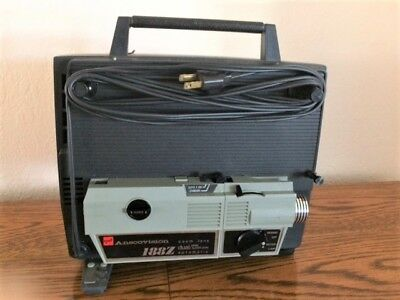 Vintage GAF Anscovision 188Z Dual Automatic Zoom Lens 8 mm Movie Projector