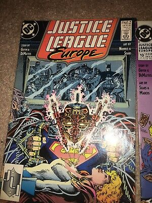 Justice League Europe Comic Book Series 1989-1990 (issue 9,10,12,13,14,15)