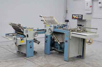 Mbo B18 Paper Folder W/ Pile Feed And 8 Page Unit