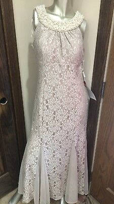 Formal Dresses Size 14P in Gold/Taupe Mother of the Bride RM Richards NWT