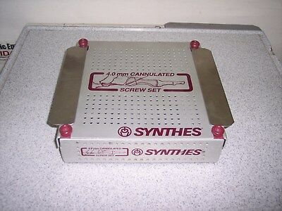 Synthes Empty Case for 4.0mm Cannulated Screw Set