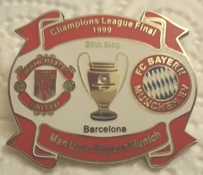 Pin CL Finale 99 Manchester United - FC Bayern