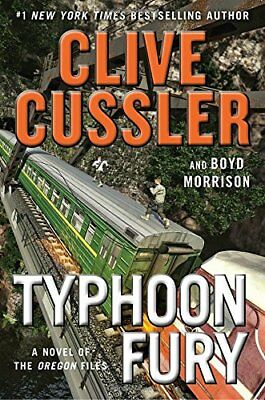 Typhoon Fury (The Oregon Files) By  Clive Cussler Ebooks