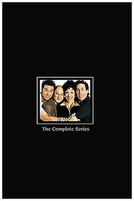 Seinfeld - The Complete Series Box Set (DVD, 2007, 33-Disc Set)Coffee Table Book