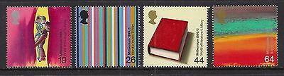GB 1999 QE2 The Artisits' Tale Umm set of 4 stamps ( K558 )