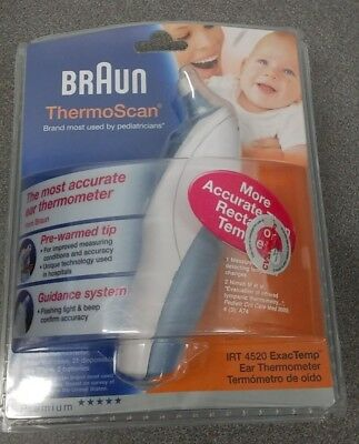 Braun ThermoScan 5 Ear Thermometer Model IRT 4520