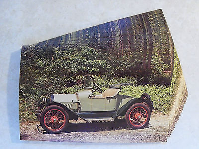 1915 CHEVROLET AMESBURY SPECIAL ROADSTER CAR IDENTICAL POSTCARD LOT 25 UNUSED 2n
