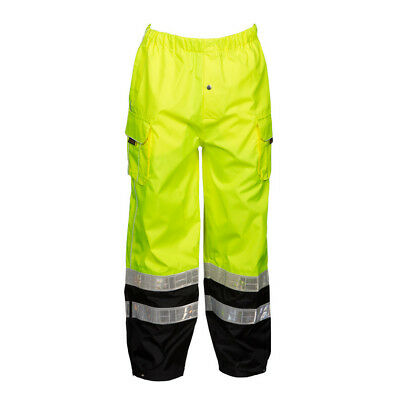 ML Kishigo RWP106 Class E Lime Premium Rainwear Pants