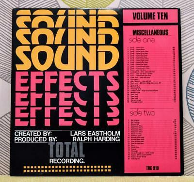 Lars Eastholm - Sound Effects [Vinyl LP] Canada Import TRC 910 + 7 Inch *EXC
