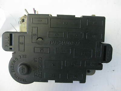 Ford Aerostar 1996 Interior Under Dash Fuse Box OEM