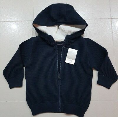 ☆☆☆BNWT brand new Next blue Boys Hoody Age 12-18 months / 1-1.5 years £15☆☆☆