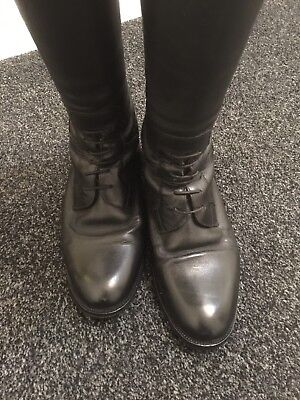 Shires Norfolk Leather Field Boots Size 4 In Beautiful Condition