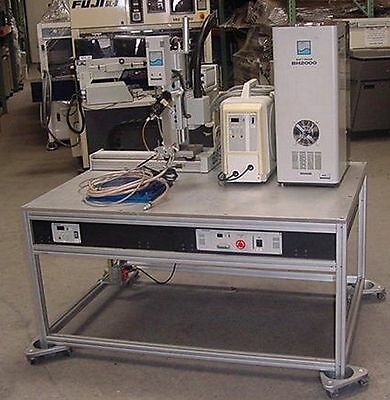 Panasonic Soft Beam BH2000 Laser Reflow Soldering System With Robot Arm Position